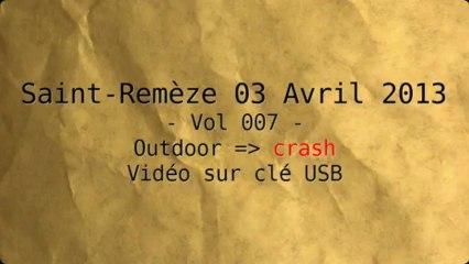 Vol 007 expérimentation Drone it - crash dans le maquis !