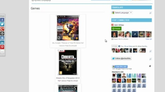 How To Download Games and Softwares From ArbazFida.com