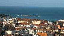 Paisaje y vistas de Candás Asturias 11 de abril