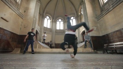 Breakdance in the Church