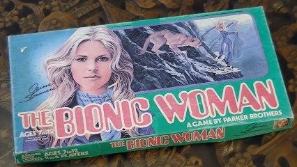 Bionic Woman board game (1976)