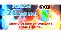 ZOUK TV DIMANCHE 21 AVRIL MARINOIR 2013 Déjeuner dansant /tropikprod