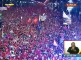 Pueblo de Venezuela rinde homenaje a Chávez desde la Avenida Bolívar de Caracas