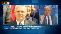 BFM STORY: Après Jérôme Cahuzac, le ministre de l'Economie Pierre Moscovici sur la selette ? - 11/04