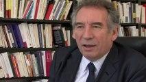 """François Bayrou : """"La crise n'est pas une crise"""""""