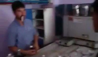 La blague de la cigarette explosive !
