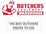 Types of Butchers Knife at Butchers equipment