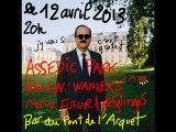 Rollin' Wankers, Assedic Park et Nono Futur, au bar du pont de l'arquet, à Rouen , le 12 avril 2013.