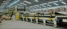 Geriffelde karton produksie lyn karton masjien verpakking masjien