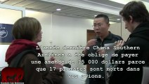 Action anti vivisection contre Vietnam Airlines et China Southern Airlines (12.04.2013)