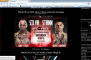 Ultimate Fighter 17 Finale Live Streaming