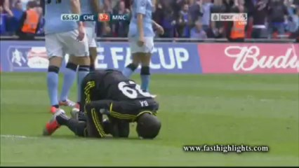 Chelsea 1-2 Manchester City (FA Cup)