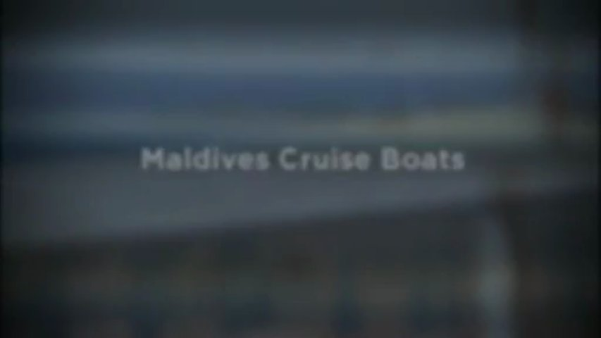 Maldives Cruise Boats