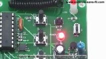 Kit Télécommande de Moteur Radio pour tourner un moteur électrique CC 12V