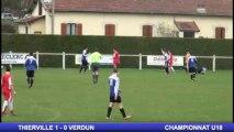 THIERVILLE - VERDUN - 1ERE MI-TEMPS  (1ère partie) - Championnat U18