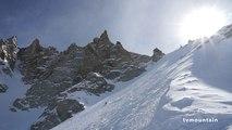 Glacier Rond Aiguille du Midi Chamonix Mont-Blanc massif