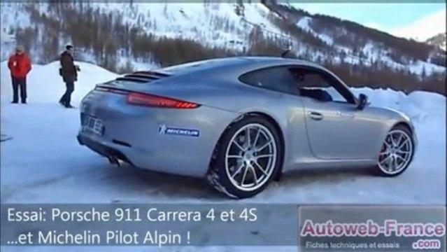 Essai Porsche 911 Carrera 4 et Carrera 4S - Autoweb-France