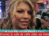 Fergie des Black Eyed Peas au VIP