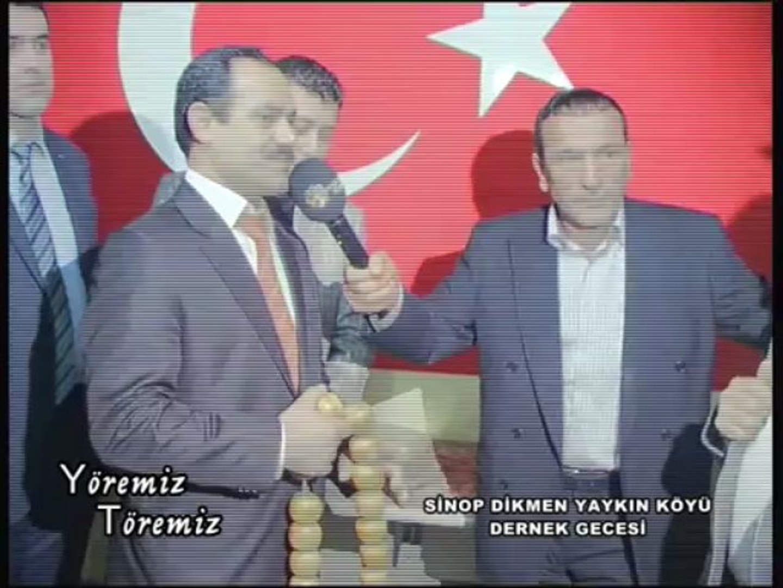 Yöremiz Töremiz - Sinop Dikmen Yaykın Köyü Dernek Gecesi 2.Bölüm