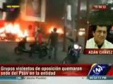 Adán Chávez denuncia acciones violentas en Barinas