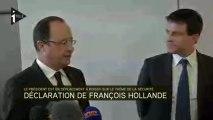 Hollande et Valls en visite surprise sur le thème de la sécurité à Roissy-CDG