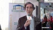 """18/04/13 : Les Experts de Bourse Direct dans l'émission """"Duplex Bourse"""" sur Décideurs TV"""