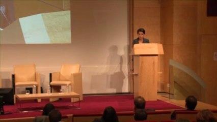 Najat Vallaud-Belkacem au Colloque sur la Santé des femmes