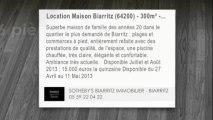 A louer - maison - Biarritz (64200) - 6 pièces - 300m²