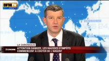Chronique éco de Nicolas Doze: les hausses d'impôts commencent à coûter chères - 16/04