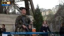 Explosions de Boston: la sécurité renforcée à Paris - 16/04