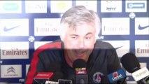 """PSG - Ancelotti : """"Gameiro s'est excusé"""""""