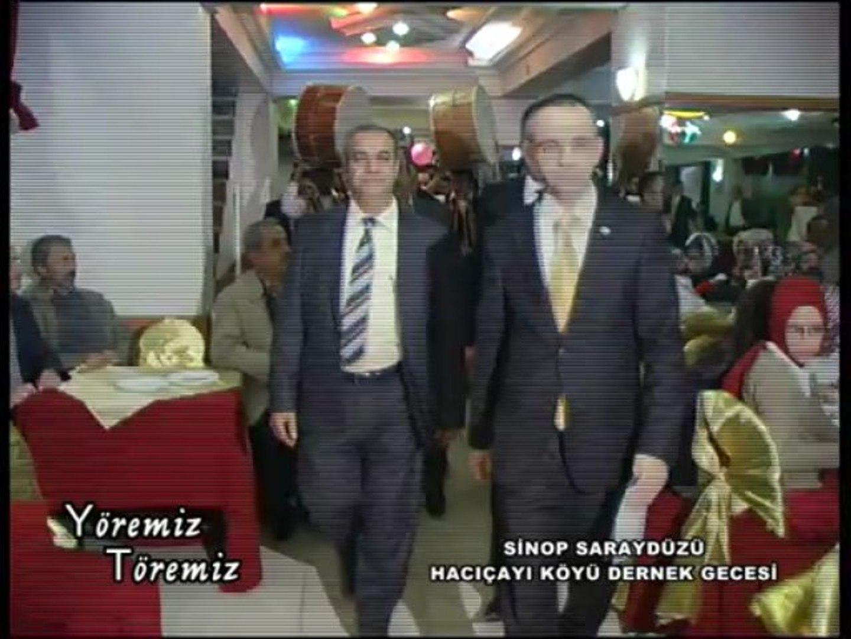 Yöremiz Töremiz - Sinop Saraydüzü Hacıçayı Köyü Derneği Gecesi 1.Bölüm