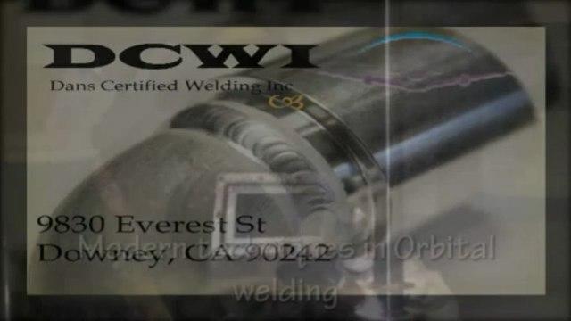 Modern procedures in Orbital welding