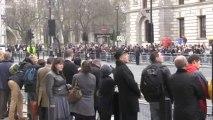Londres se despide de Margaret Thatcher