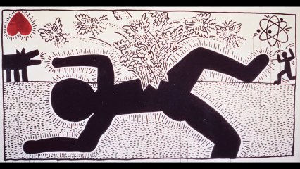 KEITH HARING, THE MESSAGE 5/6 - Once upon a time