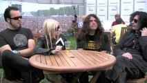 The Pretty Reckless interview at Wireless Festival 2011 with Virtual Festivals