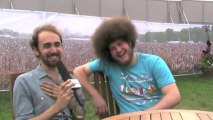 Yuck interview at Wireless Festival 2011 with Virtual Festivals