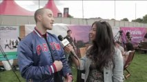 Mike Posner interview at Wireless Festival 2011 with Virtual Festivals
