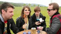 Japanese Pop Stars interview at Rockness 2011 with Virtual Festivals
