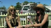 The Pierces Interview at Glastonbury 2011 with Virtual Festivals