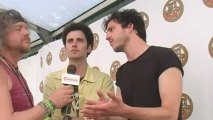 The Vaccines interview at Isle Of Wight Festival 2011 with Virtual Festivals