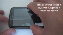 Screen Protector Fitting without Bubbles and Dust