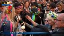 Mariage homo: à Paris, la joie des pros, la colère des antis - 24/04