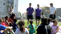 Le football féminin à travers l'action sociale Jouons Ensemble