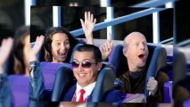 Bruce Willis Does Disneyland