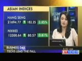 Asian Markets Mostly Down after Wall Street Losses