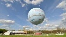Inauguration du nouveau ballon Generali au parc André Citroën.