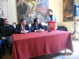 Il Sindaco premia l'Akragas per la promozione in serie D l'allenatore Pino Rigoli