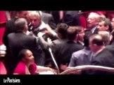 Incident à l'Assemblée : Albarello assure n'avoir «rien bu», «ni boxé personne»