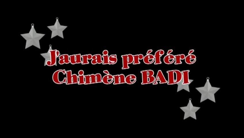 Karaoke - J'aurais préféré  de Chimène Badi